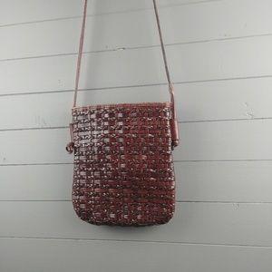 Dillards Bags - Woven Leather Cross Body by Dillards.